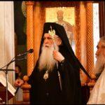 H πρώτη παράκληση στην Παναγία, από το Μητροπολίτη Αργολίδας στον Ιερό ναό Ευαγγελισμού της Θεοτόκου στο Ναύπλιο